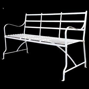 Games Bench 3 seater strapwork garden bench