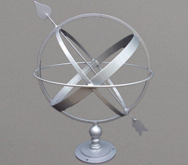 Armillary sphere sundial 40cm