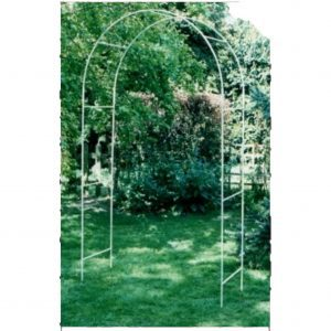 Wide strong solid simple garden arch ( upto 130cm wide )