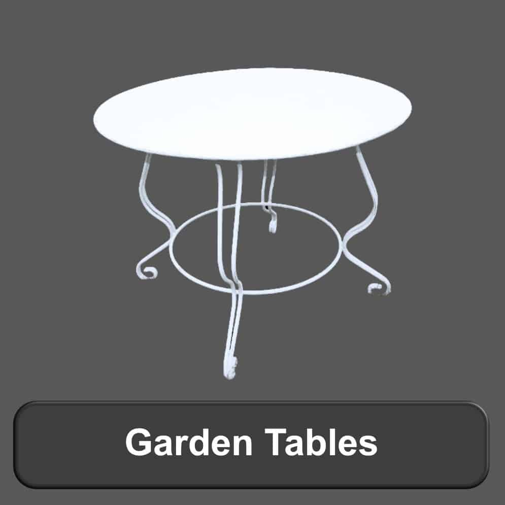 Garden Tables, Garden furniture
