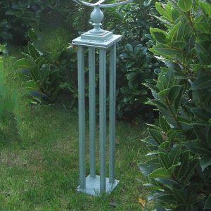 Armillary metal stand
