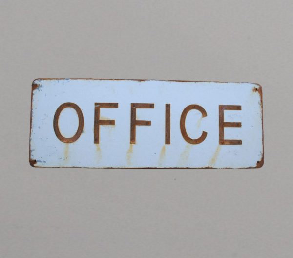 OFFIC sign